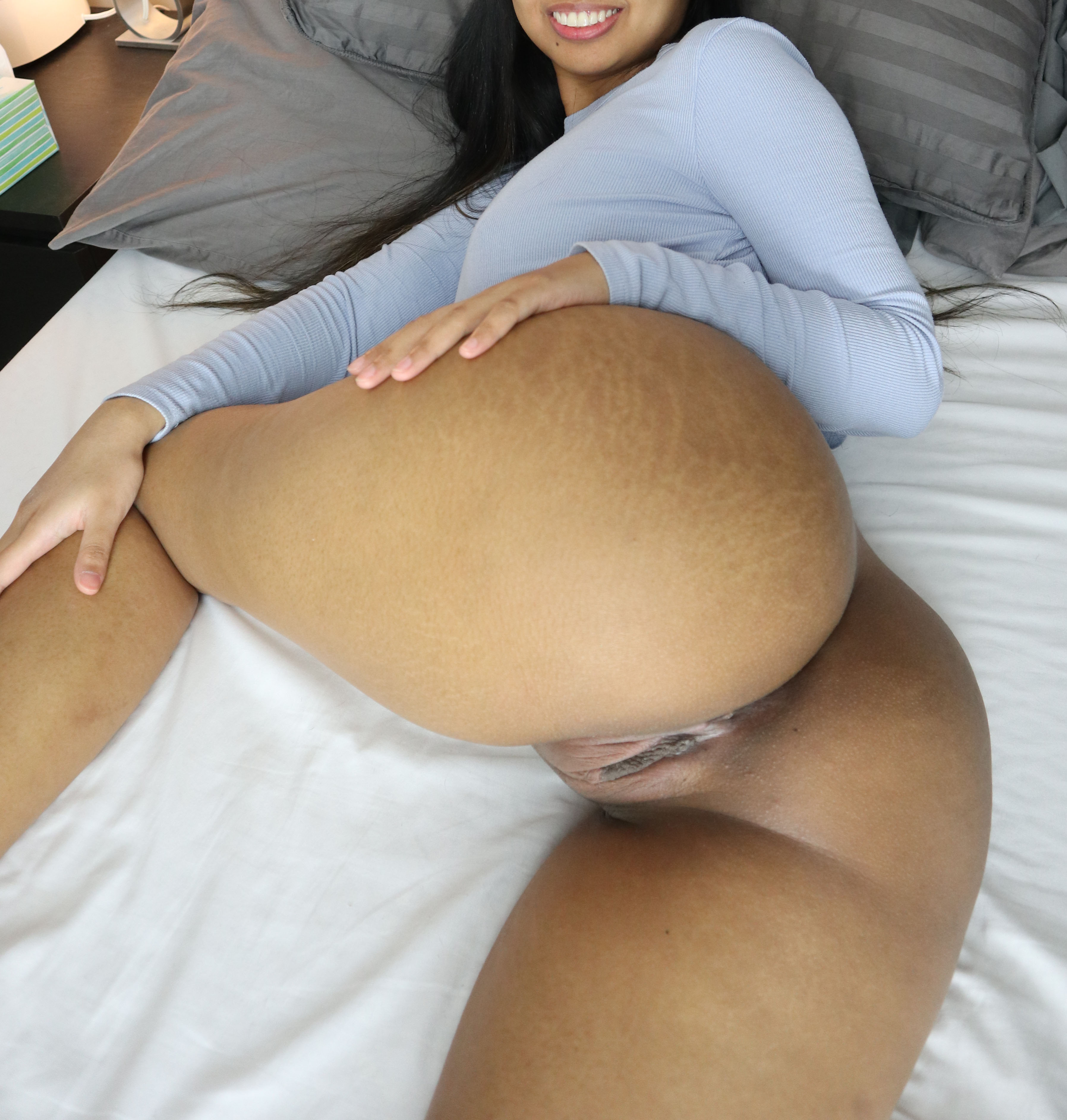One of our naked asian pics called Consider this an open invitation to pound my filipina pussy