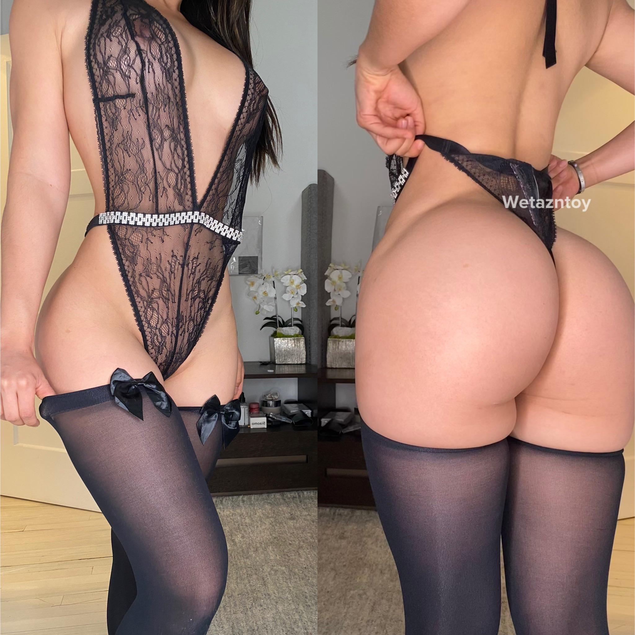 Do you prefer one pieces with or without thigh highs