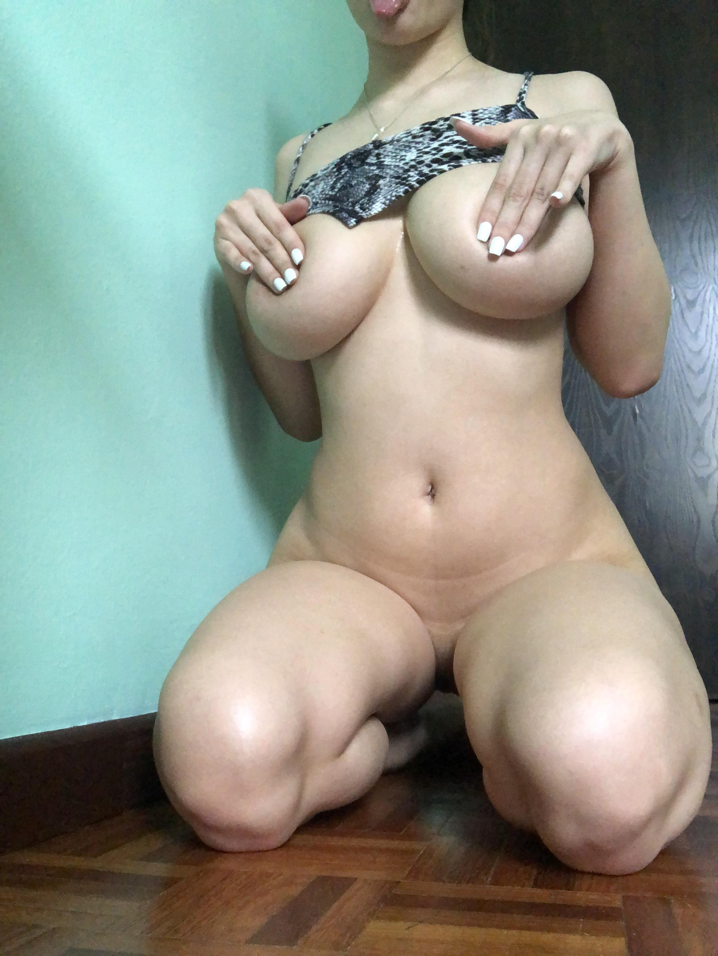 One of our naked asian pics called Will my body satisfy you?