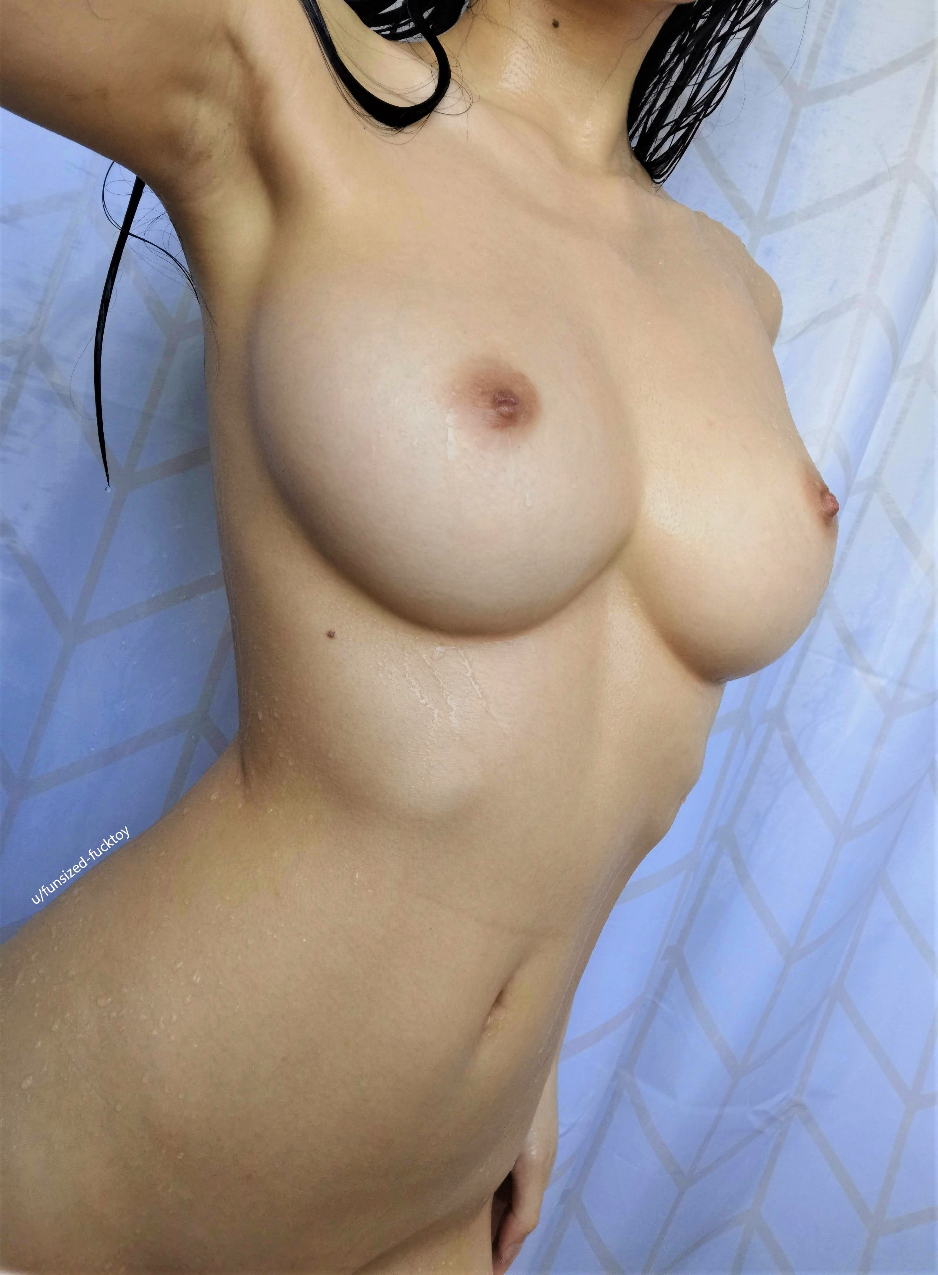 One of our naked asian pics called Get wet with me