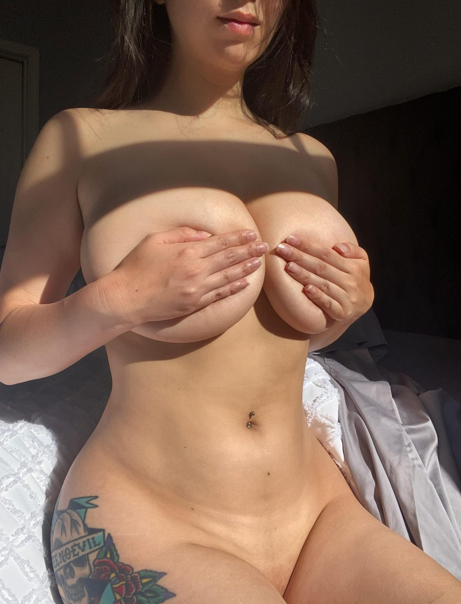 Which part of me are you cumming on first?