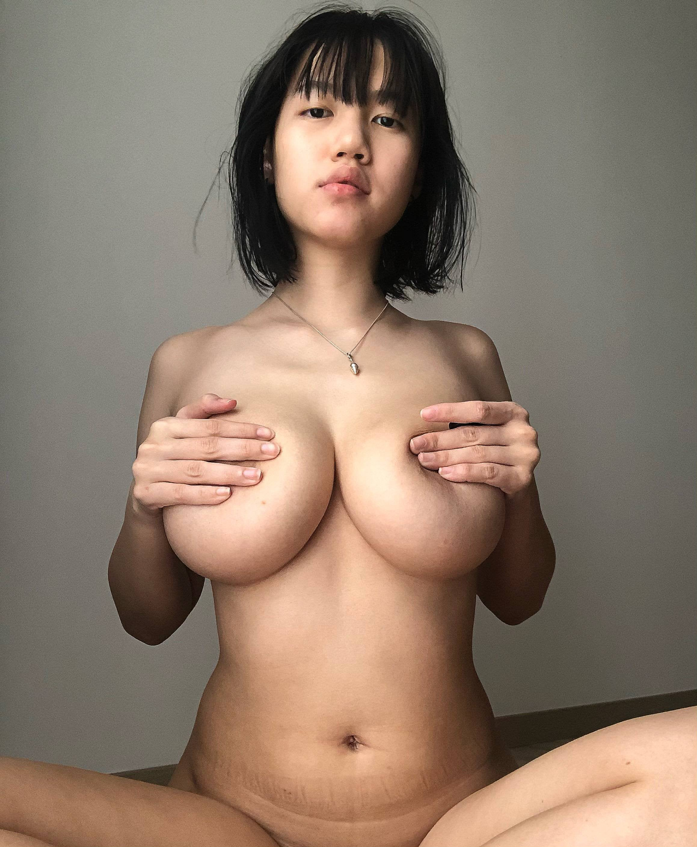 One of our naked asian pics called Ample.