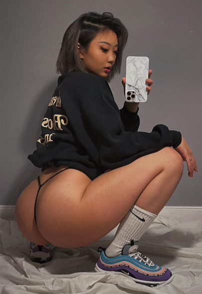 One of our naked asian pics called Thicc Asian