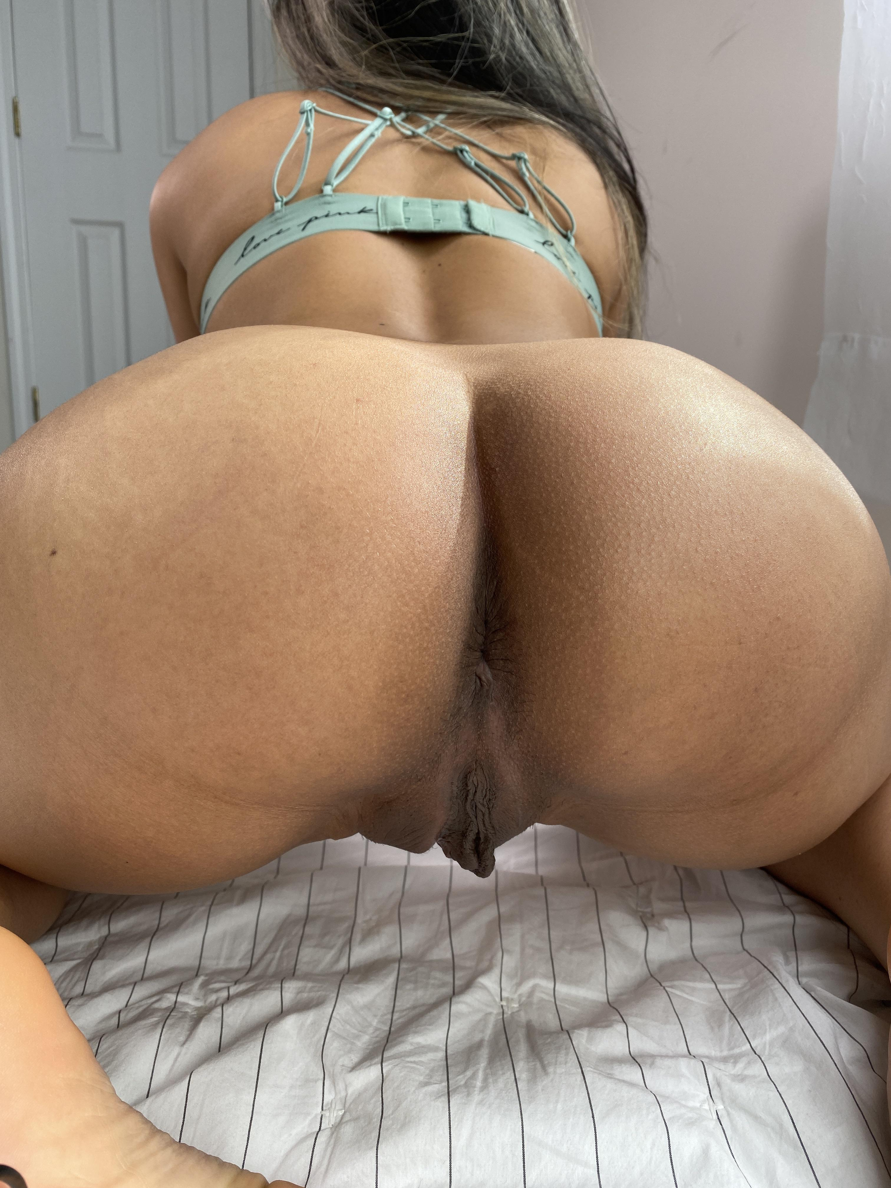 One of our naked asian pics called Would you fuck my phat ass?