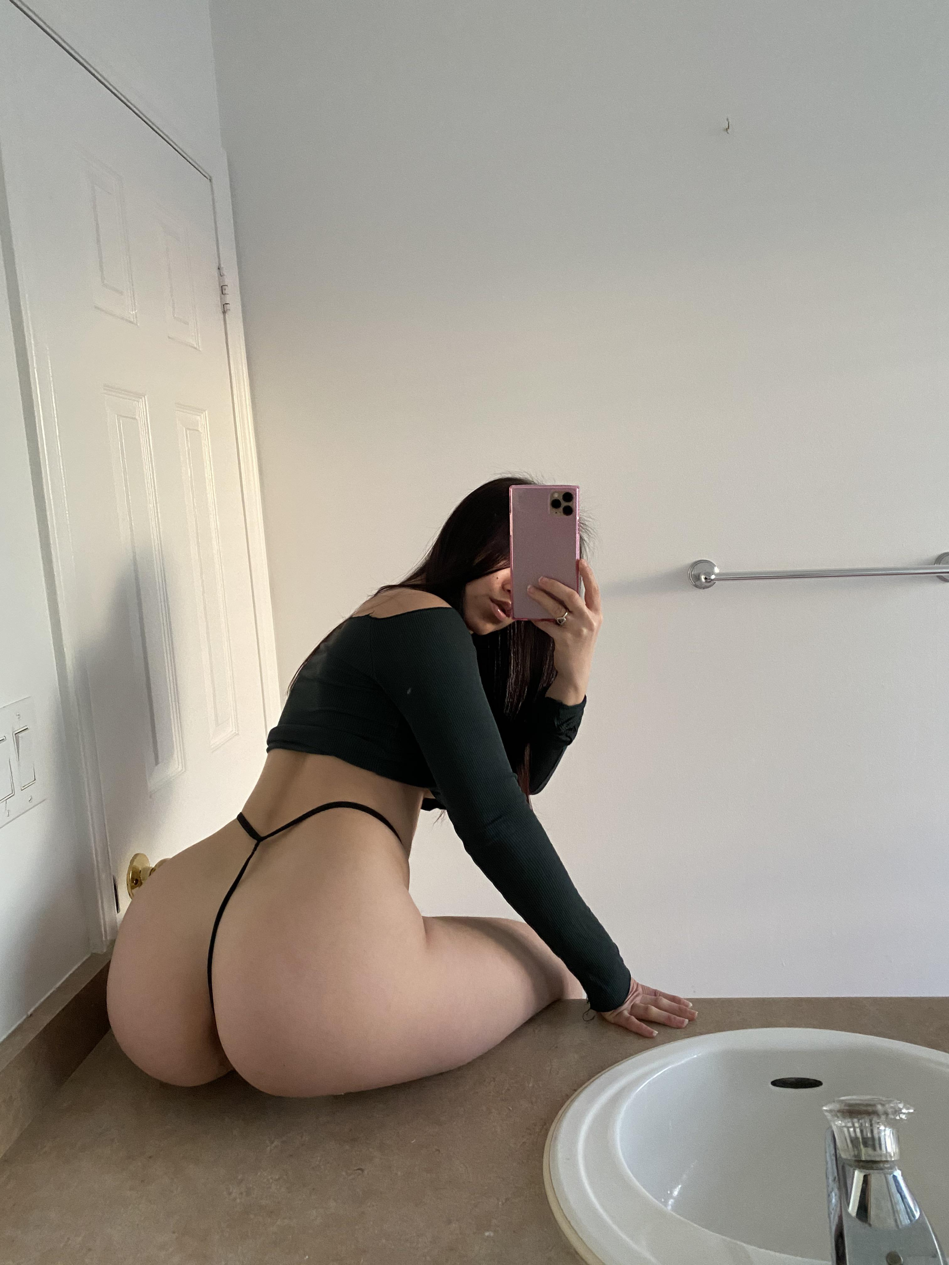 One of our naked asian pics called Can I bounce on your cock?