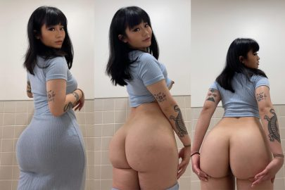 One of our naked asian pics called On or off when you fuck me?