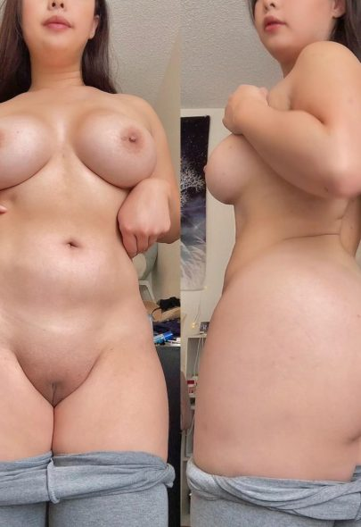One of our naked asian pics called Just been really feeling myself tonight, hope you like it.