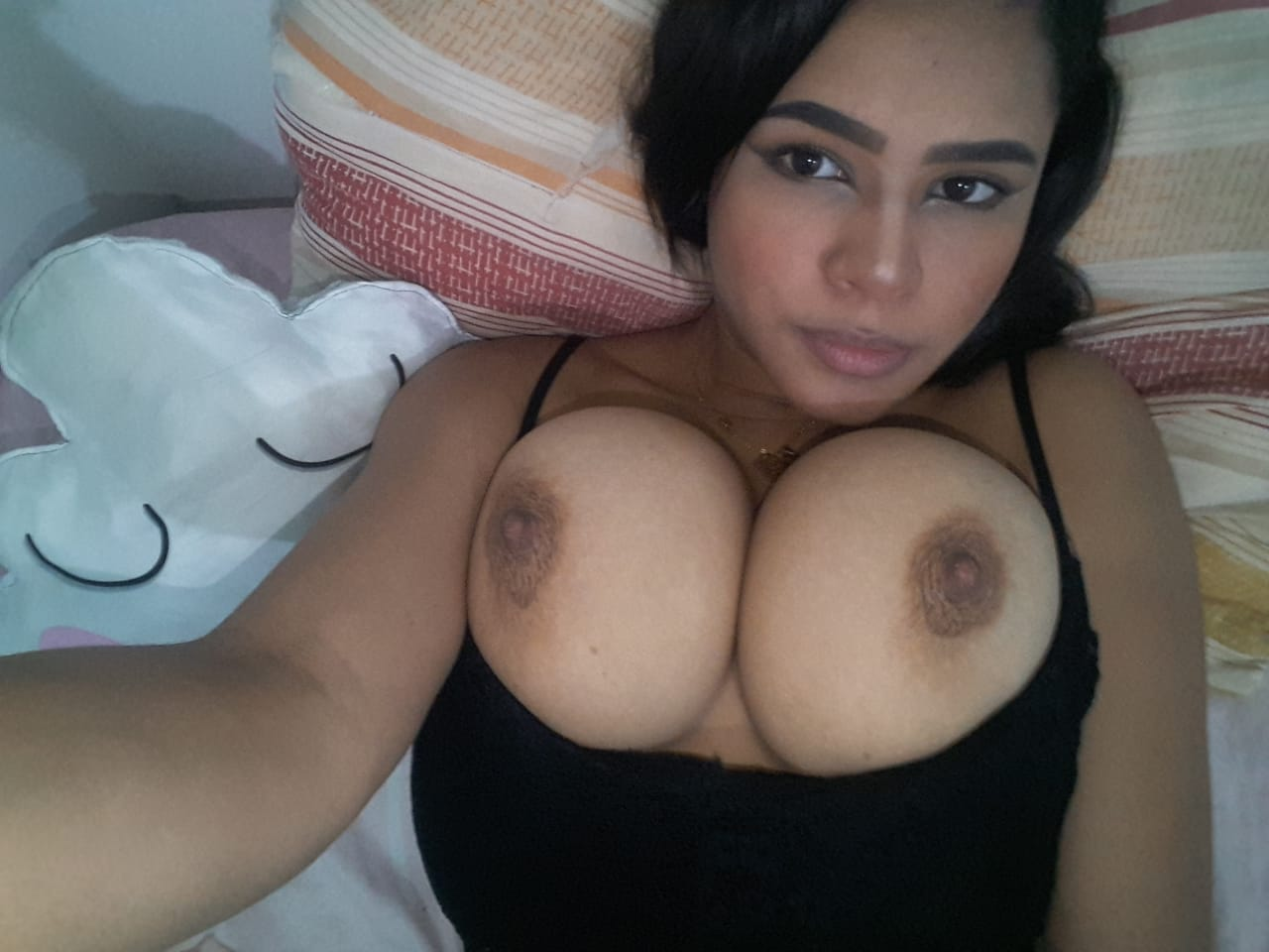 Would you play with my big huge asian tits?