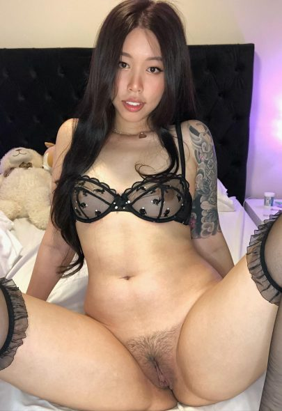 One of our naked asian pics called Would you eat me? 🥺